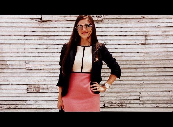 Summer Office Dress with Blazer