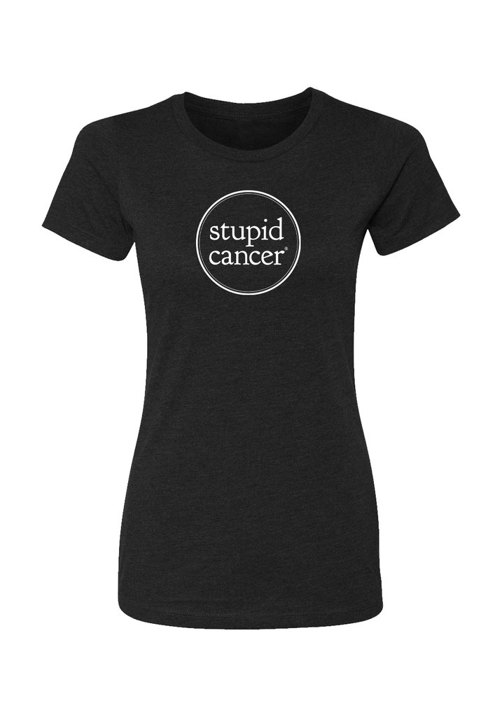 stupid-cancer-womens-tshirt-no rain-no-rainbow-holiday-gift-guide-cancer-warrior-edition-what-to-give-someone-with-cancer-sabrina-skiles