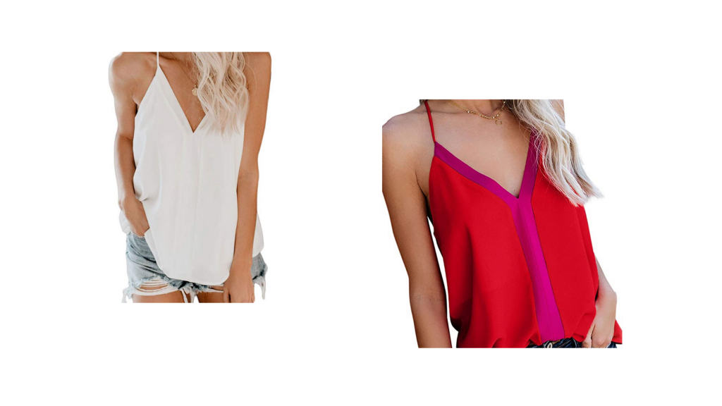 stock images of women wearing silk camisoles