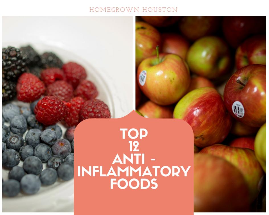 Top 12 anti-Inflammatory foods (2)